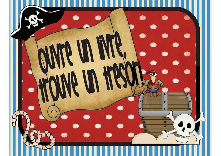 Dans la classe de Karine: Slogan pour le coin lecture