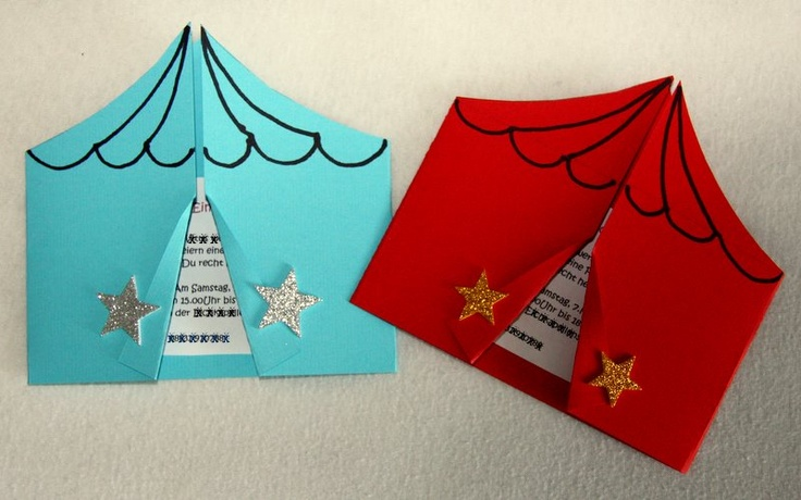 If we will do a birthday party with circus theme, this would be great invitations