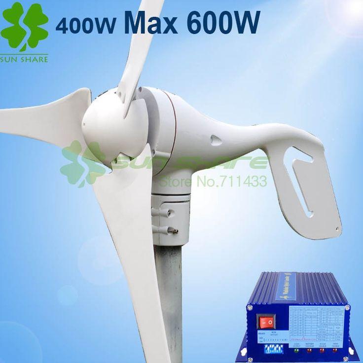 Sustentabilidade Energética Solar Termosolar e Eólica : Gerador de Turbina Eólica 600 W max vento Geração ...