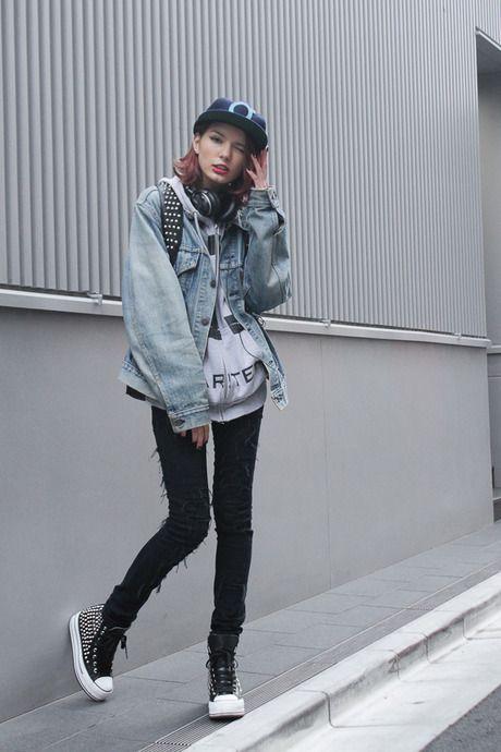 ストリートスナップ [ケリーアン]   CHEAP MONDAY, GIZA, iiJin, Levi's®   原宿   Fashionsnap.com