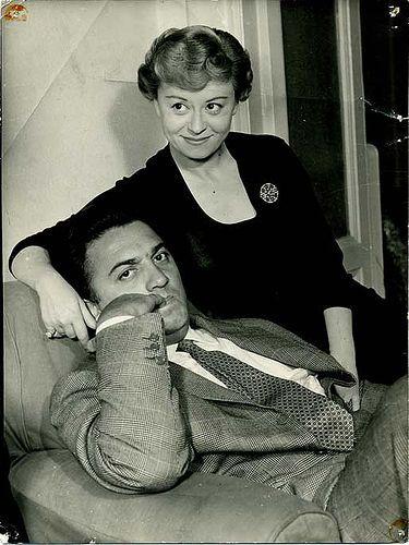 Giulietta Masina & Federico Fellini : Muses, Lovers | The Red List