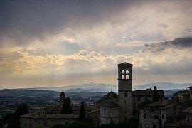 アッシジ, イタリア, 教会, トスカーナ, アーキテクチャ, 宗教, 聖堂
