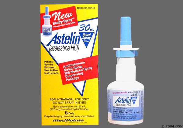 Astelin Side Effects