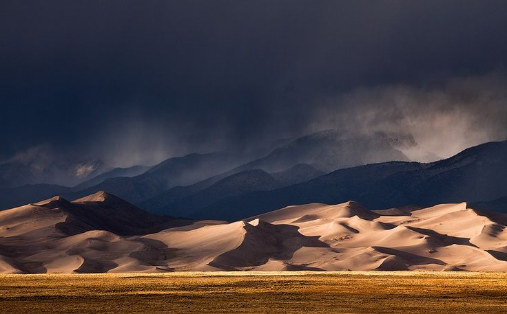 Photograph Stormy Sand Dunes by Sarah Marino on 500px