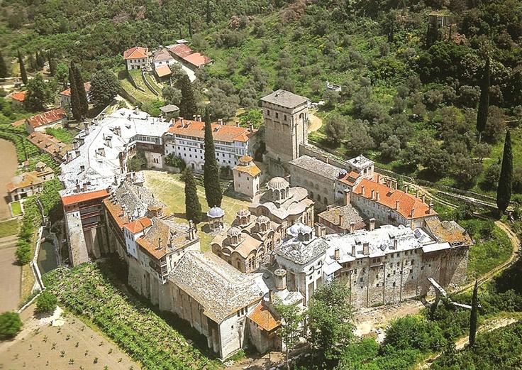 Mount Athos: 4. Helandariou monastery (Хиландар) – Serbian Orthodox