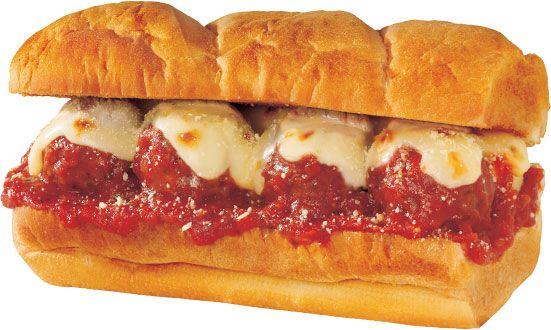 Meatball sub sandwich | tracey's | Pinterest