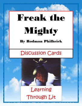 freak the mighty by rodman philbrick essay Together, they become freak the mighty  philbrick, rodman  after reading  freak the mighty, write an essay in which you compare kevin.