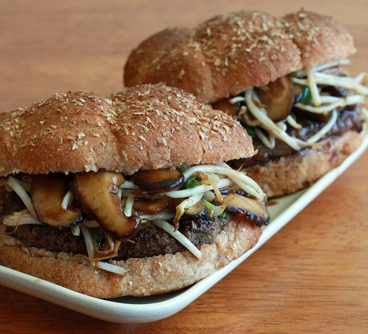 ... Sandwiches and Burgers on Pinterest | Pork, Homemade and Greek burger