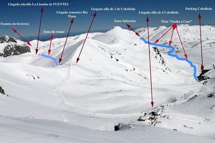 San Isidro y Fuentes de Invierno se unirán físicamente sin necesidad de nuevos remontes | Lugares de Nieve