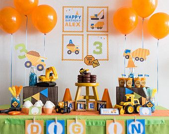 Construction Party, DIY Party Collection by MayDetails