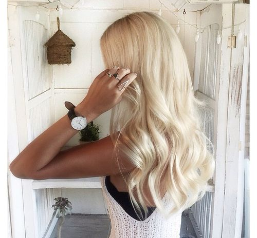 15 Inspirations Of Long Blonde Hair Colors: Best 25+ Bright Blonde Hair Ideas On Pinterest