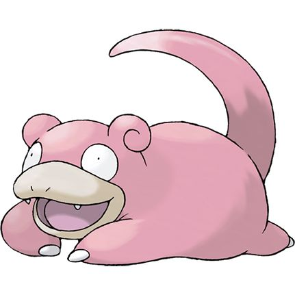 #Slowpoke from the official artwork set for #Pokemon FireRed and LeafGreen for #GBA. http://www.pokemondungeon.com/pokemon-firered-and-leafgreen-versions