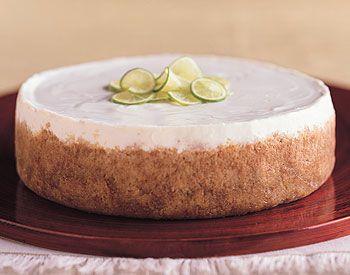 Key Lime Cheesecake Recipe | Epicurious.com