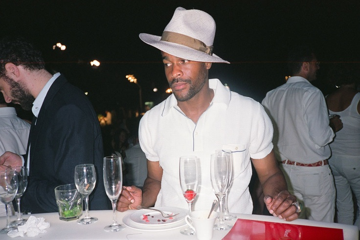 Karl-Edwin Guerre at Manuel Vanni's All White Party @ Florence, Italy