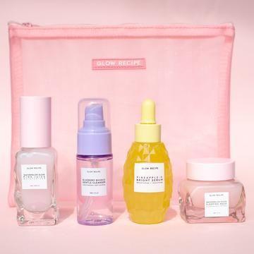 4 Step Pineapple Glass Skin K-Beauty Kit