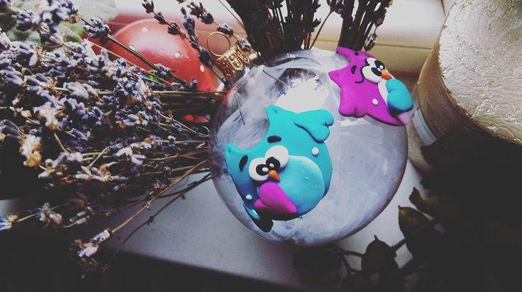 Handmade Christmas Globes :-)