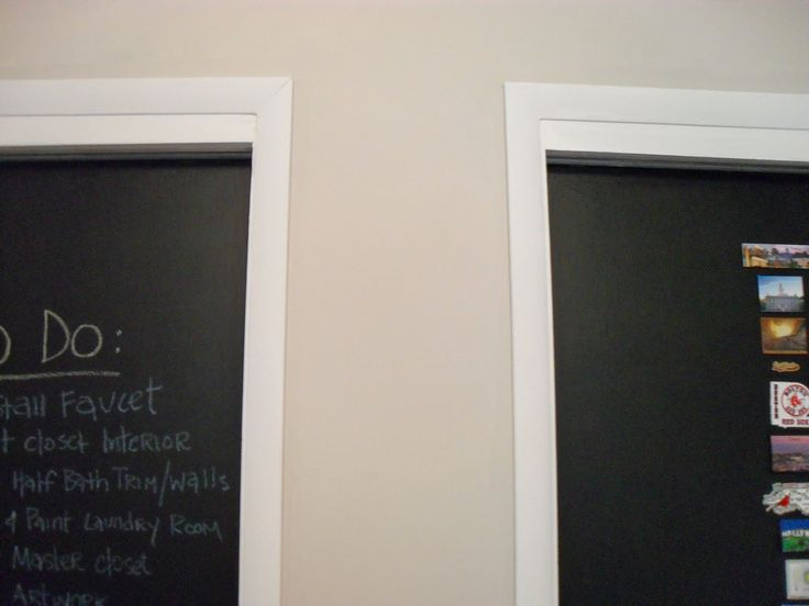 The Remodeled Life: Chalkboard Doors - The Finale