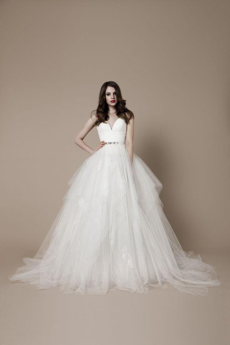 55 best tulle skirt wedding dresses images on pinterest for Where to buy daalarna wedding dresses