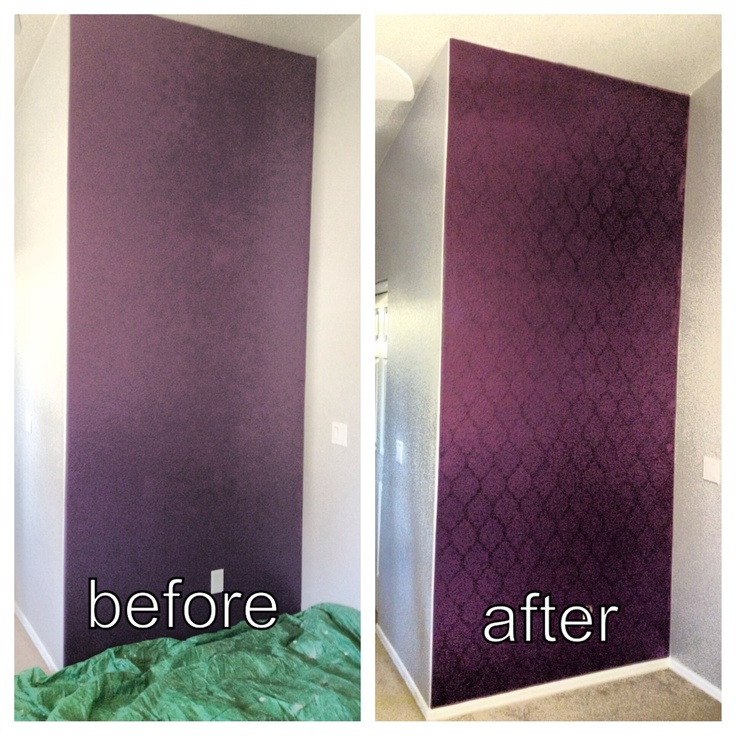 Master bedroom wall :) DIY projects