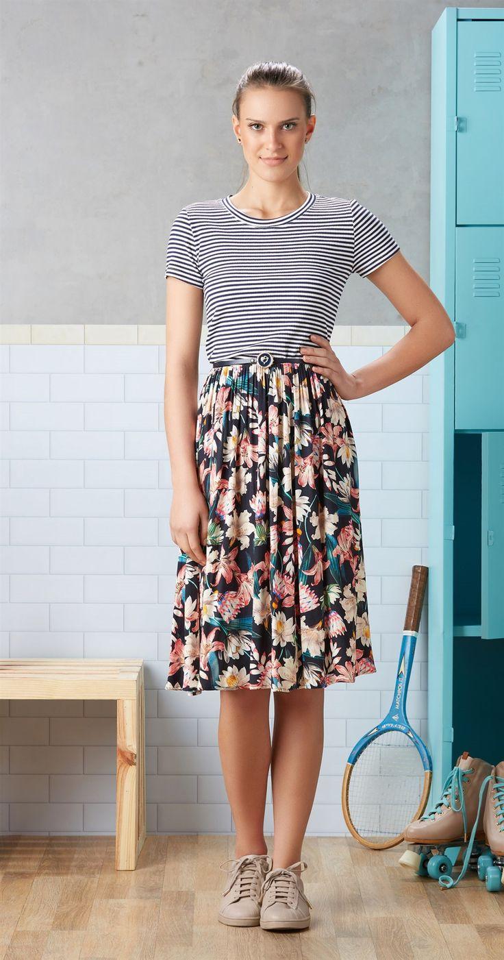 Só na Antix Store você encontra Blusa Listrada com exclusividade na internet