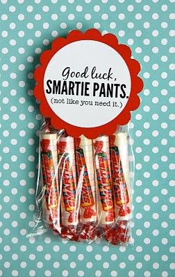 Tell them good luck to school so for someone entering 2nd grade say- good luck in 2nd grade
