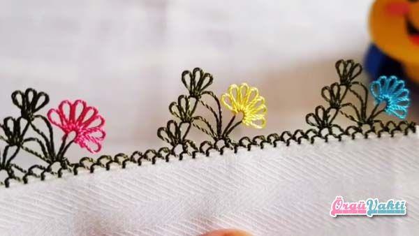 Çıtı Pıtı Dallı Çiçek Modeli Yapımı Türkçe Anlatımlı Videolu #moda…