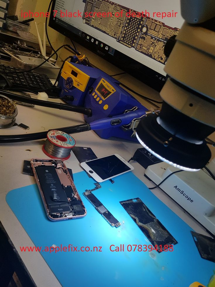 iPhone 7 black screen of death repair in hamilton new zealand. Bring it to applefix hamilton at 85/a victoria street hamilton new zealand or call 078394188. Got no display on your iPhone 7 most probably iPhone 7 backlight is faulty. If you are having any problem with your iPhone , from simple iPhone lcd replacement to iPhone logic board repair all repairs instore fully equipped workshop highly skilled technician. read further here…