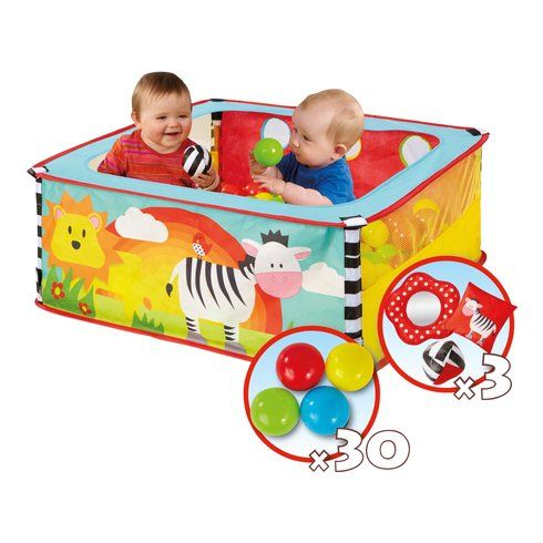 Superb Worlds Apart Kid Active Zebra Pop Up Sensory Ball Pit Now At Smyths Toys UK! Buy Online Or Collect At Your Local Smyths Store! We Stock A Great Range Of Other Preschool At Great Prices.