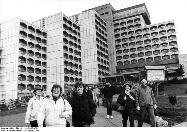 Friedrichroda FDGB - Heim 'August Bebel' DDR December 1987