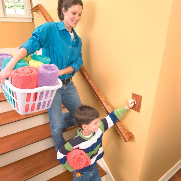 This article shows you a simple technique for adding a second switch to a stairway light or a light in any room in your home.