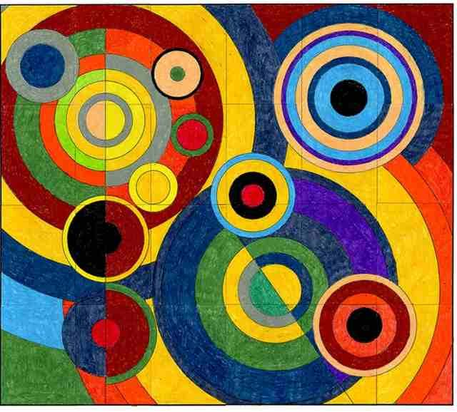 9 best Sonia DELAUNAY images on Pinterest | Visual arts