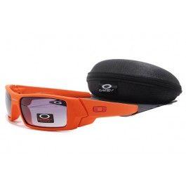 Oakley Gascan óculos de sol Vermelho alaranjado Quadro roxo lente