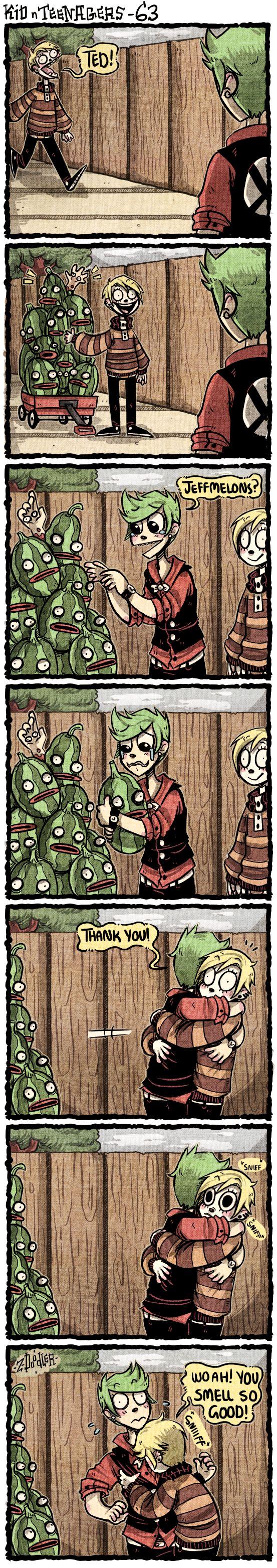 +KnT - So Many Jeffmelons+ by Z-Doodler.deviantart.com on @DeviantArt