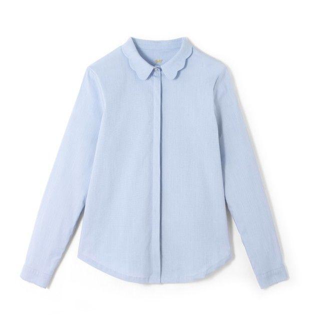 Image Peter Pan Collar Shirt MADEMOISELLE R