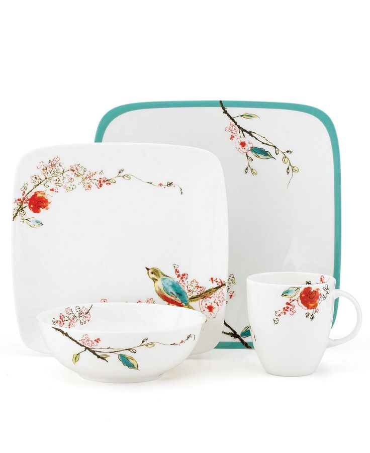 lenox simply fine dinnerware chirp collection