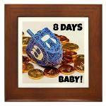 8 Days Baby - Dreidel Tile