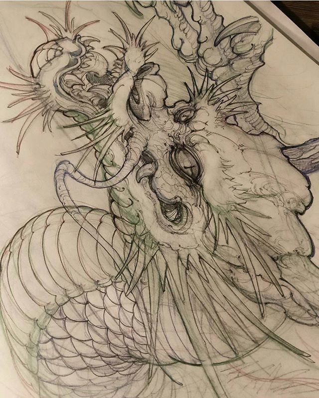 Best 25+ Japanese Dragon Ideas On Pinterest