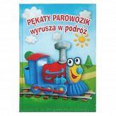 """Książka """"Pękaty Parowozik wyrusza w podróż"""" http://szukamprezentu.pl/ksiazka-pekaty-parowozik-wyrusza-w-podroz.html"""