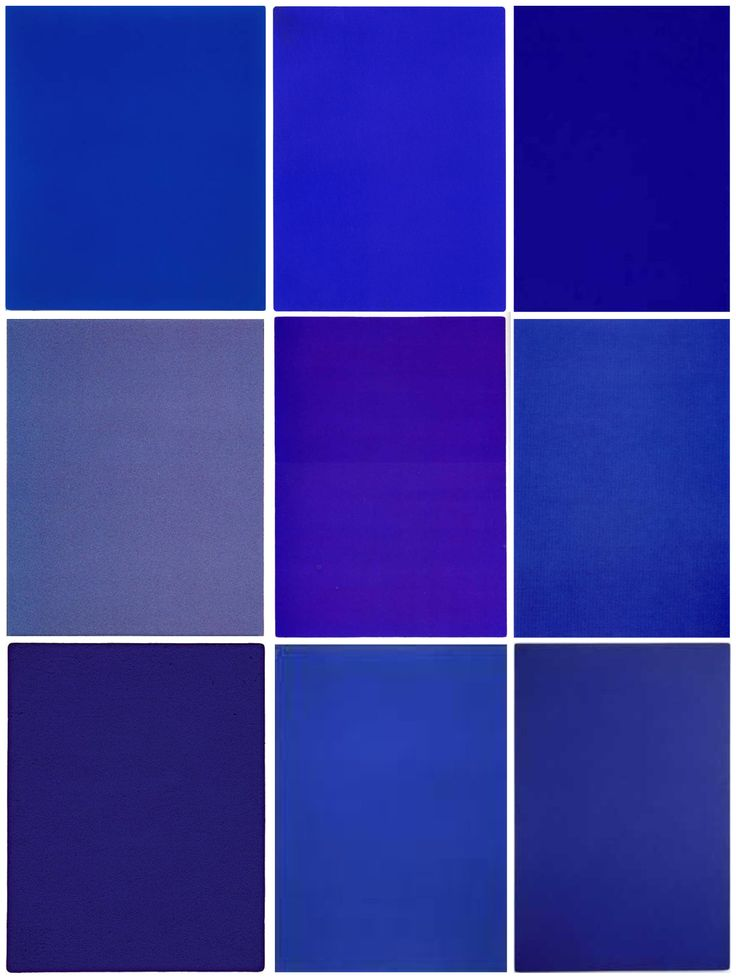 Design Within Reach - aubreylstallard:   Yves Klein Blues