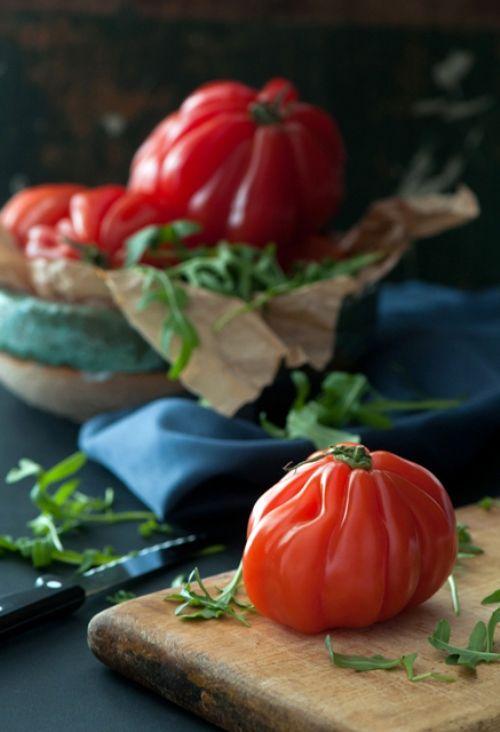Beautiful tomatoes {Jenn Cuisine}