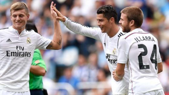 Für Weltmeister Toni Kroos wird es der erste Clasico. Ein Tor für Real gelang ihm in der Liga noch nicht, dafür vier Assists