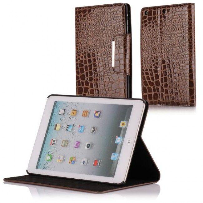 Raptor iPad Mini Nahkakotelo - Ständillä (Ruskea) - http://lux-case.fi/raptor-ipad-mini-nahkakotelo-standilla-ruskea.html