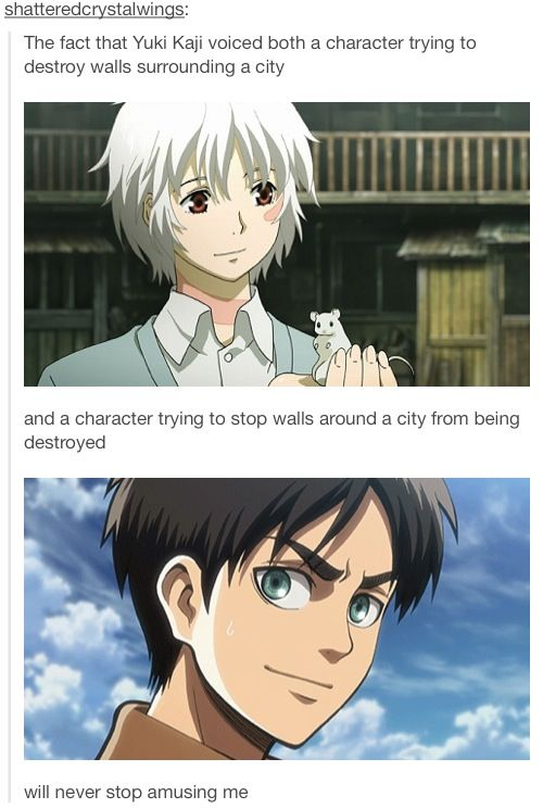 No 6 Anime Characters : That s awesome shion and eren anime pinterest