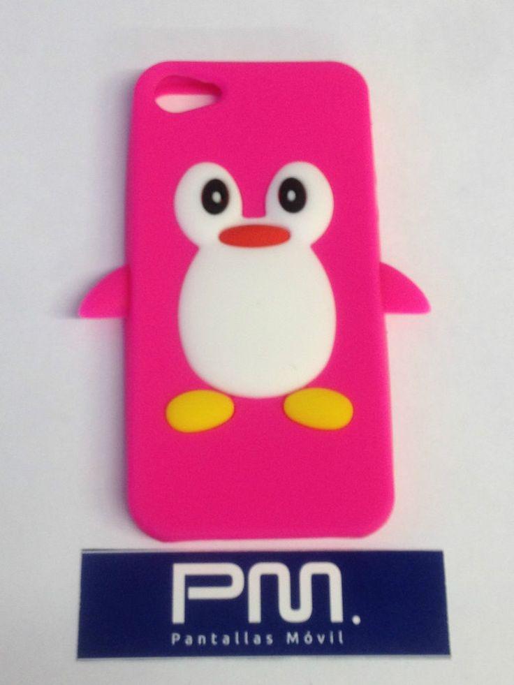 Funda silicona ping ino rosa iphone 5 5s fundas - Fundas de telefonos moviles ...