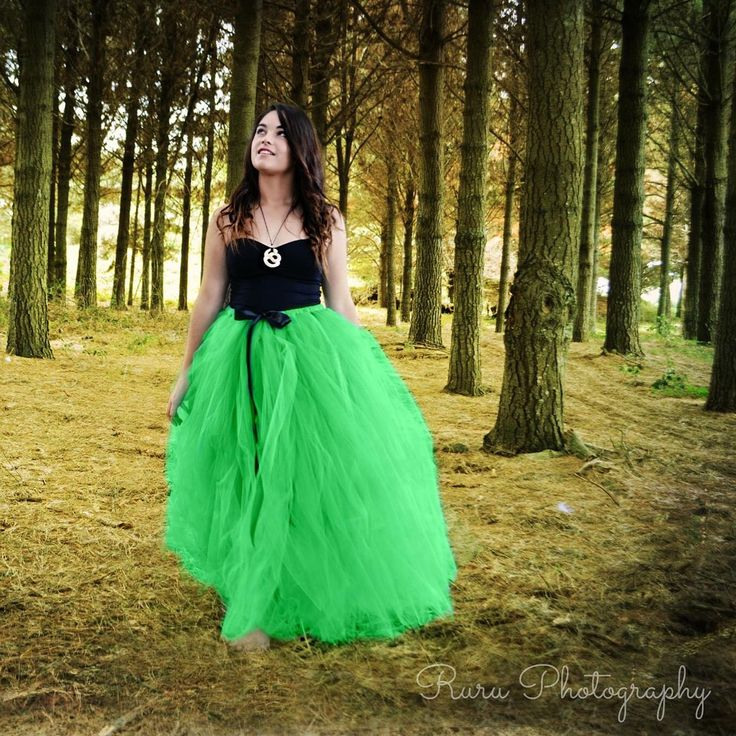 Stunning emerald adult tutu long handcrafted by Romayse tutus