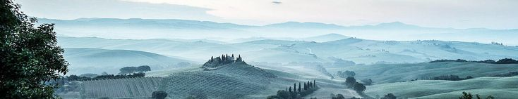 Belvedere, Tuscany, Italy, Panorama  The incomparable Tuscany plains, pre-dawn, with just a light sprinkling of mist……  For more check out my website at david Bridgwater photography  Camera Nikon D800/Lee Filters Tripod and head: Legs Manfrotto MT055CXPRO3                                 Head Manfrotto MHXPROBHQ2 Landscape Photographer: David Bridgwater