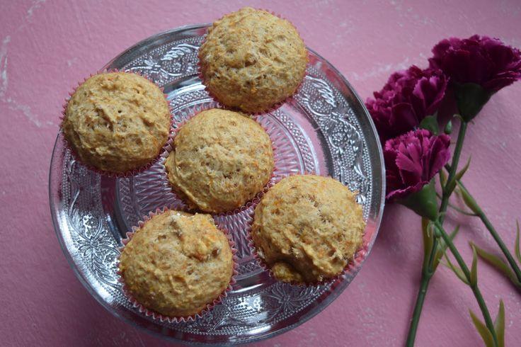 Muffins Especiados de Calabaza y Espelta Sin Gluten. Repostería Tximeleta.