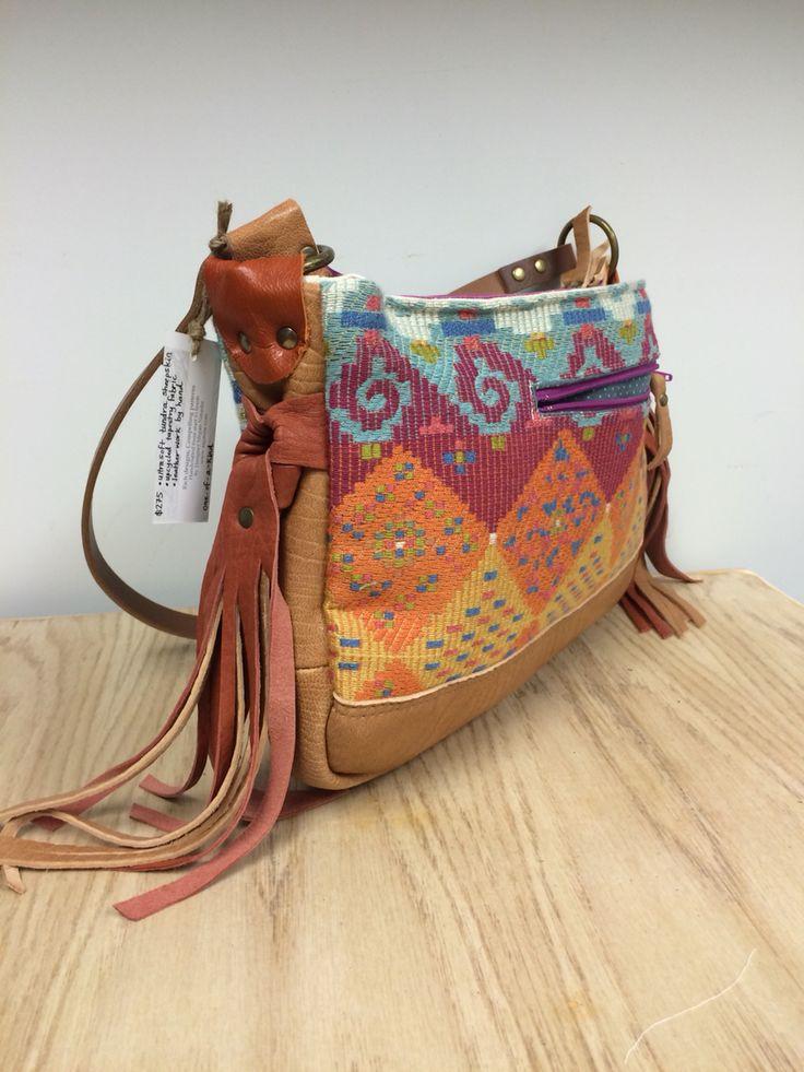 So fun, so boho. One of a kind bag by Ragmaw
