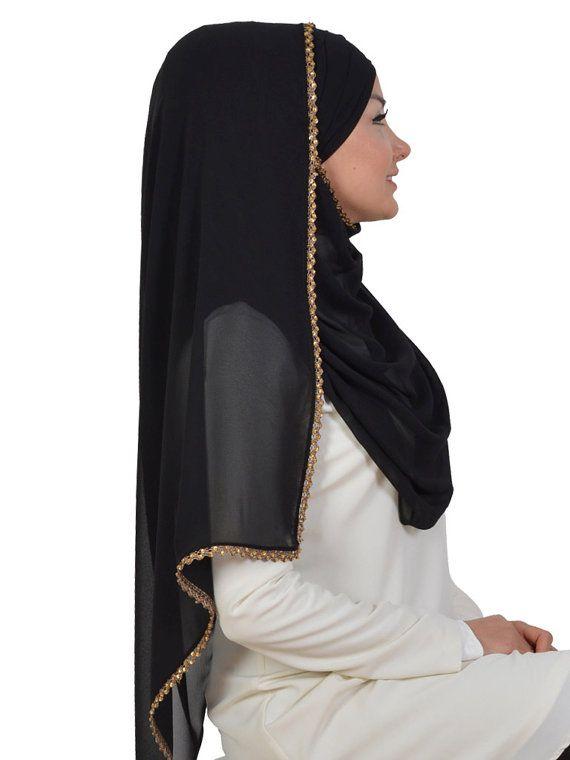 Chiffon Express Hijab Code:CPS-0019 Muslim Women by HAZIRTURBAN