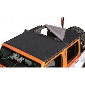 Rampage Jeep 94935 Combo Brief/Topper JK Unlimited 4Dr 2010- - diamond black